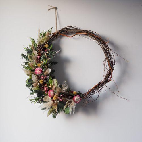 Atelier demie-couronne de noël – 29 novembre