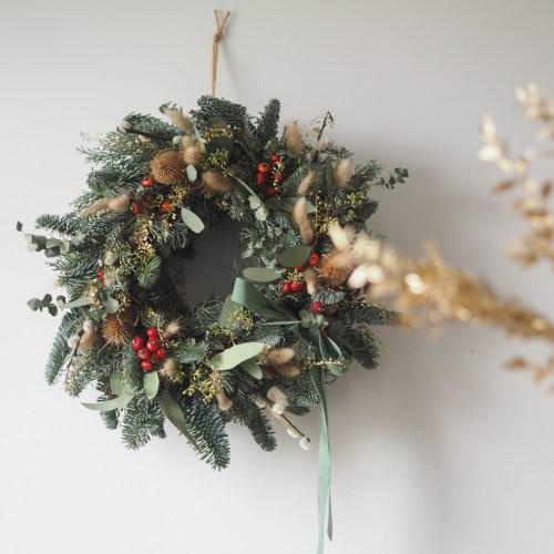 Couronne de Noël | Santa Baby