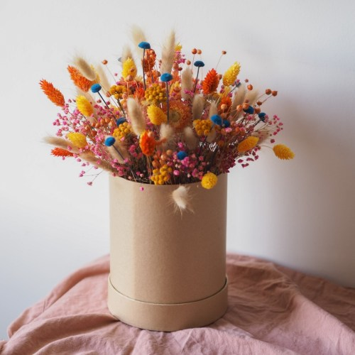 Boite fleurie Mina