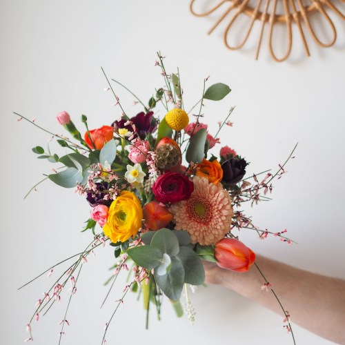 Bouquet de la semaine (réalisé à la commande)