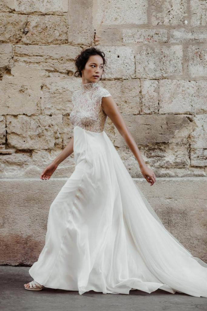 Robe de mariée écoresponsable