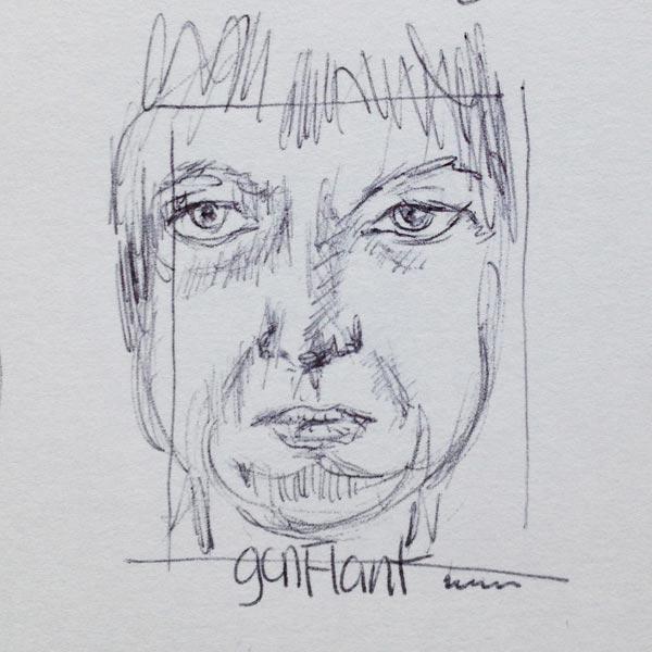 Auto-Portrait-stylo-Bic-9-el