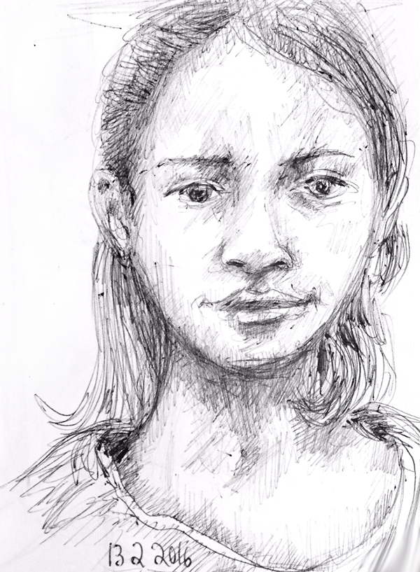 dessin-fille-tv-portrait-2