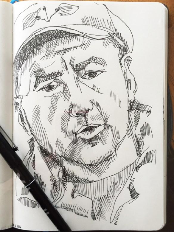 dessin-stylo-marin