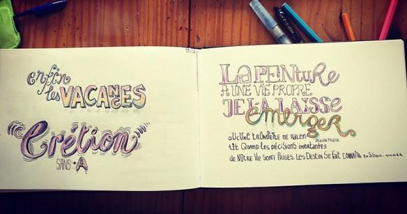Comment dessiner des lettres ? Le lettrage pour tous !