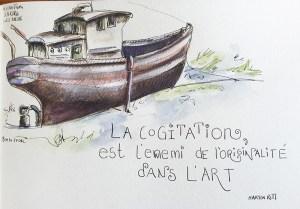 Paysages Bretons Dessiner La Bretagne Dessiner Ici Et La Bas