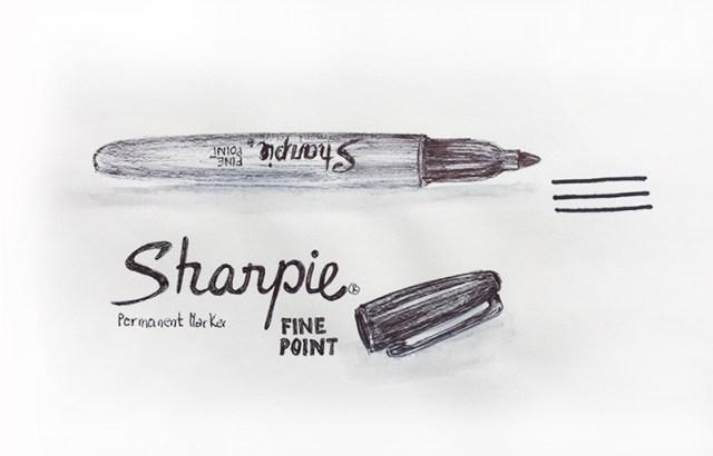 materiel-sharpie