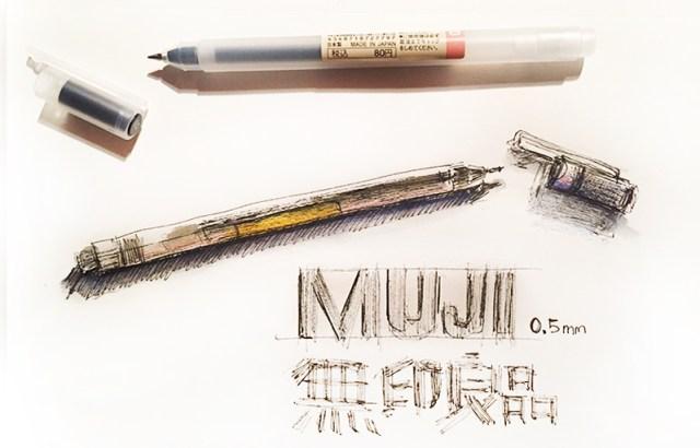 outils-dessin-muji