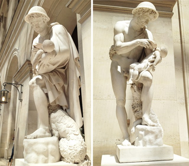 LOouvre-statues