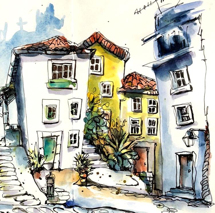 dessin-maisons-porto-renata