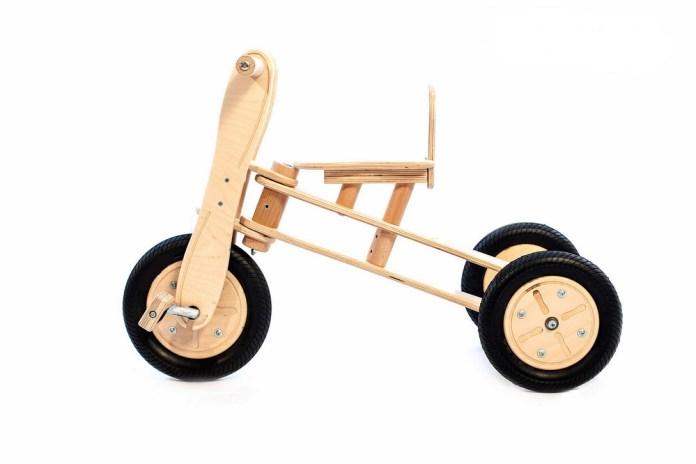 Tricikel - Lucky 3in1 (vir: SFI)