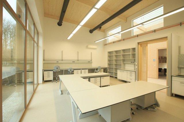 Za izgradnjo objekta so bili uporabljeni najmodernejši materiali in sistemi gradnje.