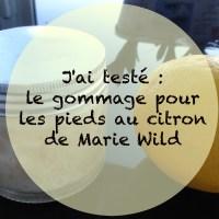 Homecosmetics#2 - le gommage fait maison au citron pour les pieds de Marie Wild 🌿🍋