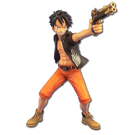 Luffy en cowboy