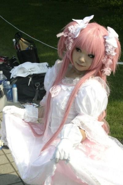 Lolita au comiket.