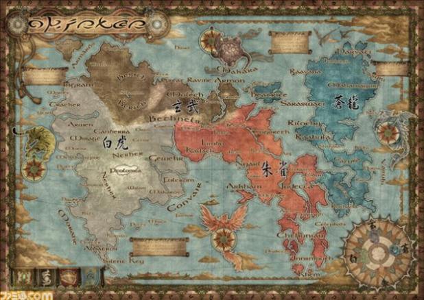 Oriense_Map Final Fantasy Type 0