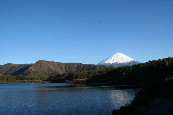 Ouest du Lac Sai et vue sur le Fujisan