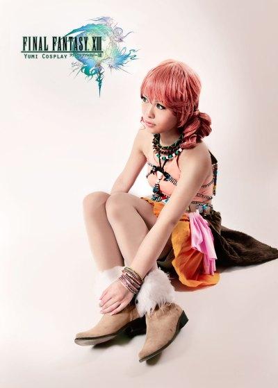 Yumi-Cosplay, Vanille, Final Fantasy XIII