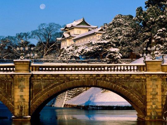 Palais impérial de Tokyo, Hiver
