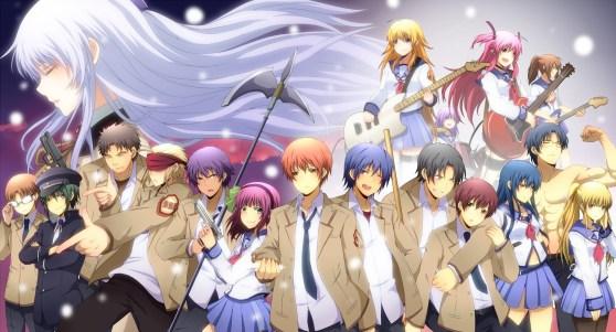 Angel Beats! - le site du Japon