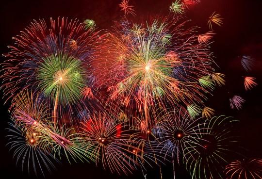 Fireworks on Tokyo Bay par Miki Mix