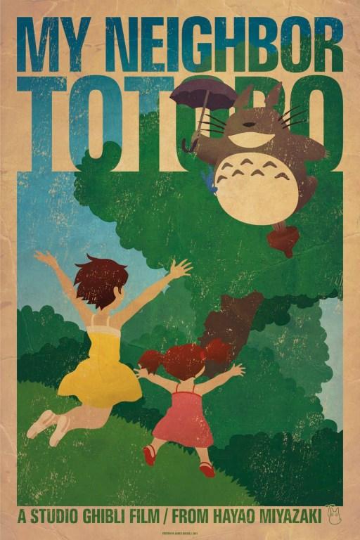Mon voisin Totoro, par James Bacon