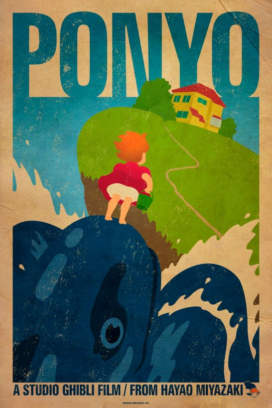 Ponyo, par James Bacon