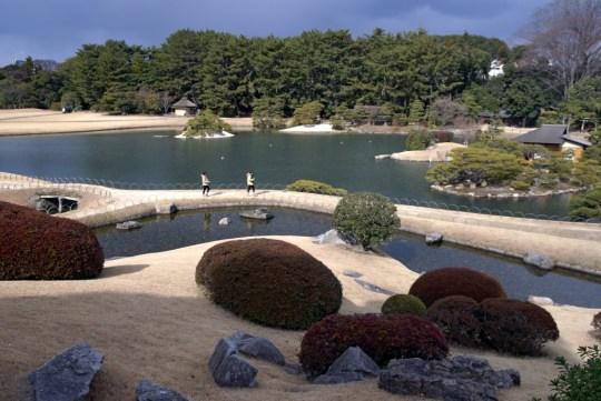 Jardin d'Okayama : Korakuen.