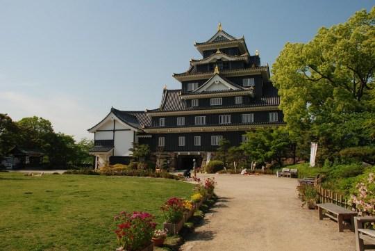 Château d'Okayama par xiquinho