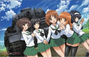Girl und Panzer 1 wp