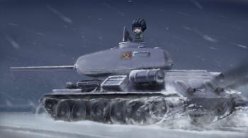 Girl und Panzer wp 6