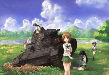 Girl und Panzer wp 9