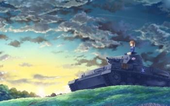 Girl und Panzer wp 13