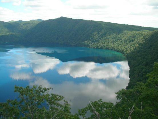 Reflet d'été sur le lac, par Hajime Nakano.