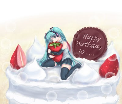[Vocaloid] HATSUNE Miku Birthday