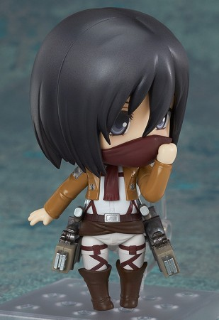 Mikasa ackerman nendoroid écharpe