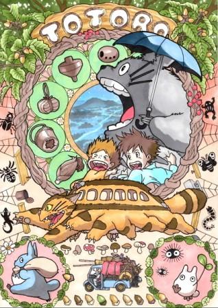 Totoro par marlboro