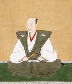 Oda Nobunaga, portrait par Kano Motohide, XVIe