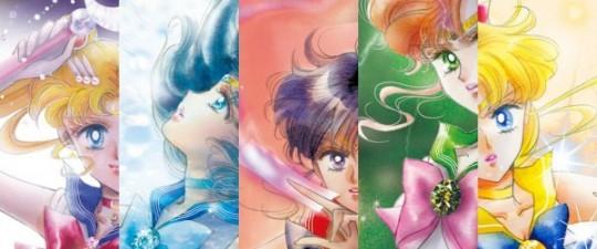 Sailor moon key visual