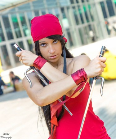 Nouna cosplay - Elektra