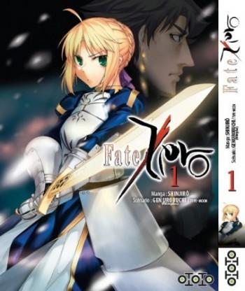Fate Zero, volume 1, jaquette officielle. Ototo manga