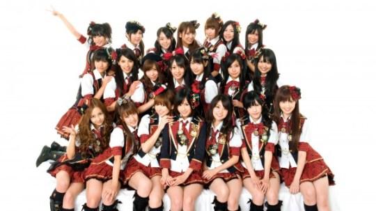 Le groupe AKB48