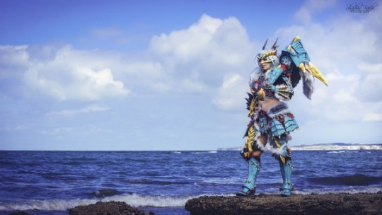 Jinouga la chasseuse par Shoko cosplay.
