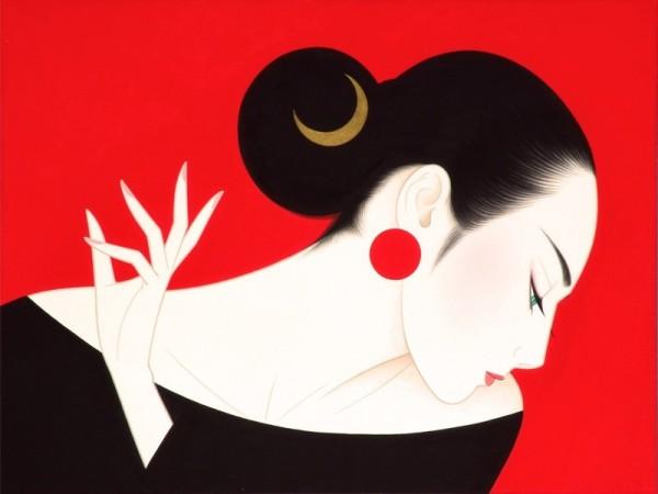 Icharo Tsuruta. Bijin-ga (美人画)