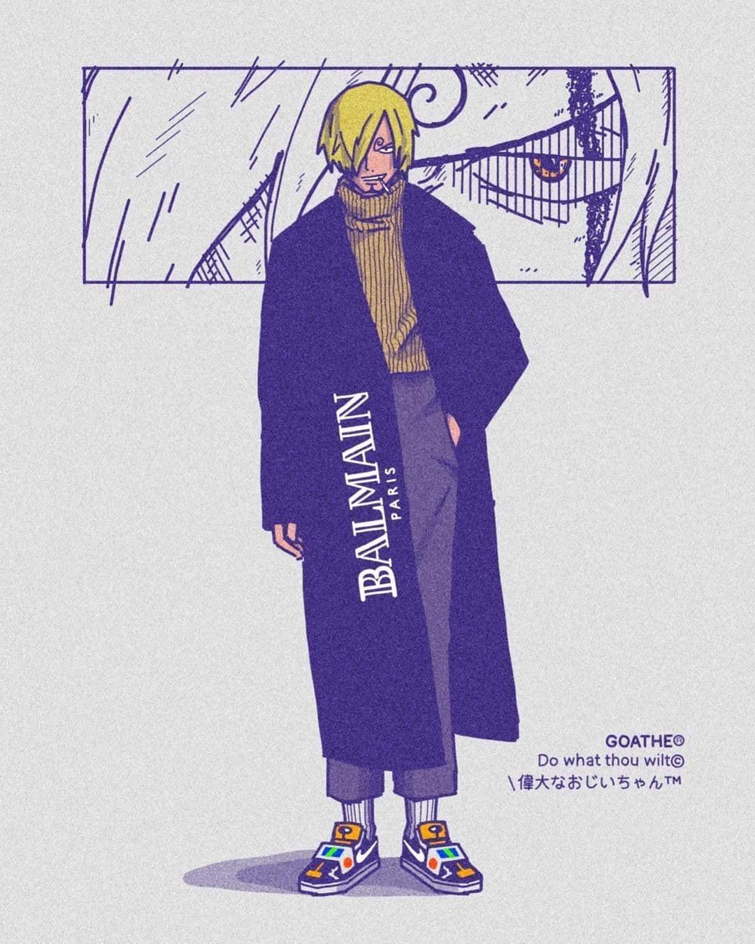 Goathe habille les stars du manga le site du Japon