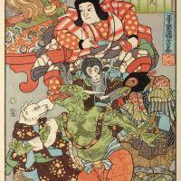 Momotaro, conte célèbre du Japon