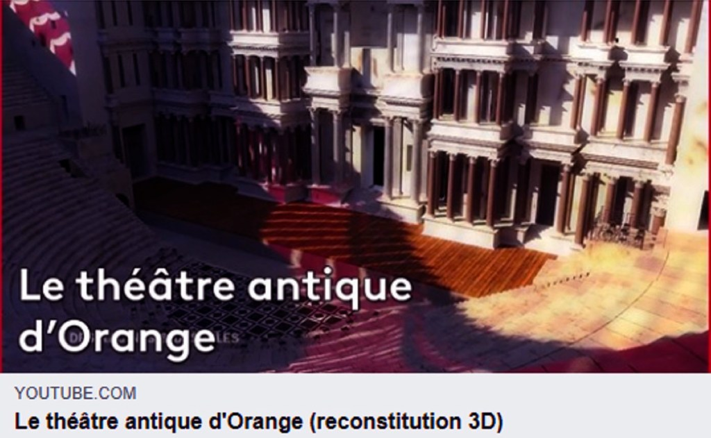 Orange en Vaucluse la Cité des Princes de Provence à 30 mn d'Avignon. Youtube