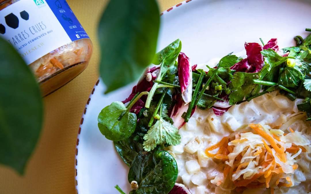 Le coleslaw, une recette 100% saine et naturelle