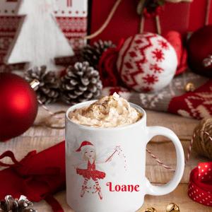 Mug Fée de Noël   14€