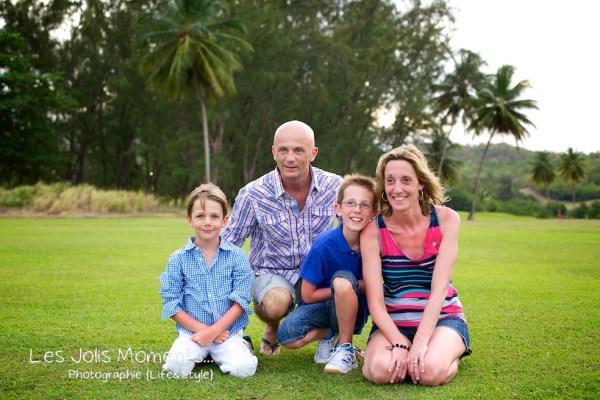 Famille A au Golf des Trois Ilets 3